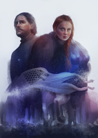 Taking back Winterfell by Sandramalie