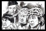 Doctor Who Four More Doctors by ShawnVanBriesen