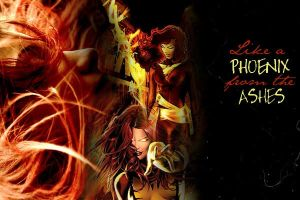 Like a Phoenix from the ashes by JeannieHowlett