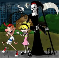 Grim, Billy and Mandy by Sam1Am