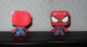 Spiderman papercraft, Spidey papertoy by ValhallaAsgard
