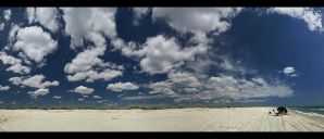 wild beach - pano by vxside