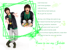 Minho - Come to me my Juliette by Crimson-Truth