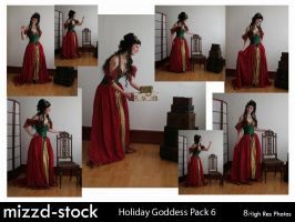 Holiday Goddess Pack 6 by mizzd-stock