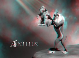 Circle of Life (anaglyph) by AEmiliusLives