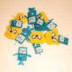 Adventure Time Key-Chain Plush by mihoyonagi