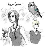 Hunger Games by D-Kitsune