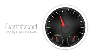 Dashboard Icon by Luke O'Sullivan by osullivanluke