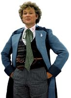 Sixth Doctor - Alternate blue outfit by DisneyDoctorWhoSly23