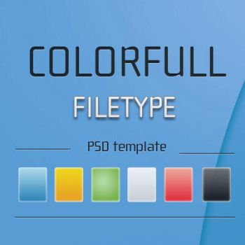 PSD for colorfull filetype by blymar