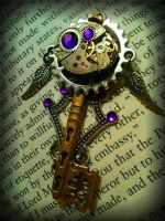 Midnight Honor Fantasy Key by ArtByStarlaMoore
