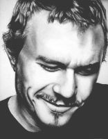 Heath Ledger by umbrellaXbrigade