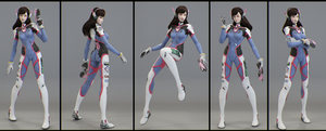 Dva Posed by Graxious