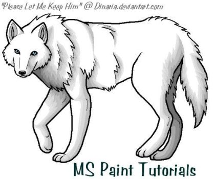 Library Reference-MS Paint by ArtistsHospital