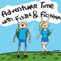 Adventure Time with Finn and Fionna! by Yeleena