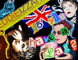 Eddie Izzard Fanatic by VintageRobot09