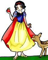Snow White-colored by Rena-Muffin