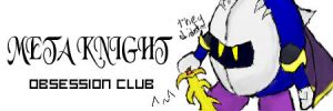 Meta Knight Obsession Club? by Ms-Silver
