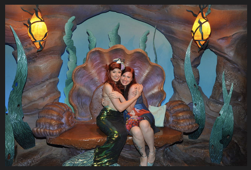 Meeting Ariel for the first time in her fin by FuriePhoenix