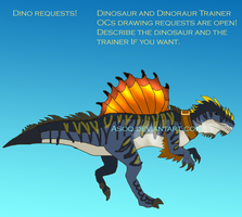 Dinosaur and Dinosaur Trainer OCs Request OPEN! by Asoq