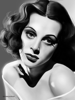 Lamarr Hedy by YourBloodDay