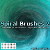 Spiral Brushes 2 by AscendedArts