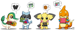 Poke Christmas Gifts by pichu90
