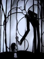 Slender Man by mokaart