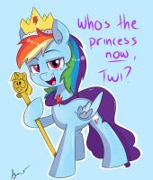 Princess Dash by wizardglitter