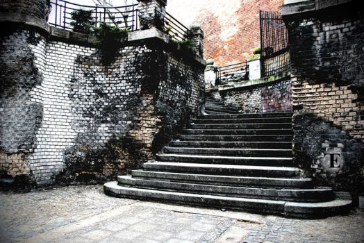-+-Stairs from the past-+- by TalviEnkeli