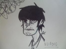 Murdoc. by Slacker3