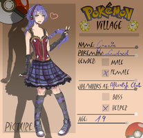 Poke-Village: Gracie by Carolineshox