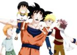 Goku and the JUMP boys by Yana25
