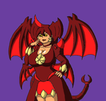Destroyah-tan by Brian12
