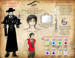 TBOS-Mr. Smiles Character Ref. by lady-storykeeper
