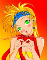 Rikku- Valentine's day Colored by ShaianWillems