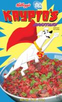 Krypto's Dogstars cereal by Sombraluz-Images