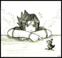 Silly Sasuke by Lizeth