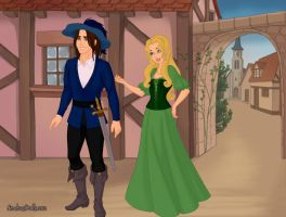D'Artagnan and Constance by Kailie2122