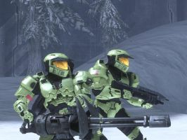 Halo wars spartans by rtsman3