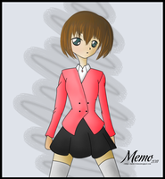 First paint victor ' Anime ' by Memo-Toma