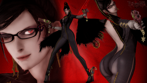 Bayonetta - Let's Dance Boys! by LemurfotArt