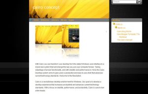 Cairo Concept Blogger template by mfayaz