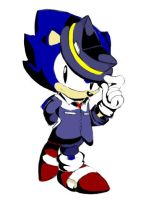 Sonic Noire by TheUpbringer