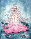 Water lily by Eimiel