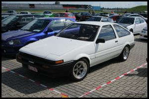 1985 Corolla Sprinter Trueno by compaan-art