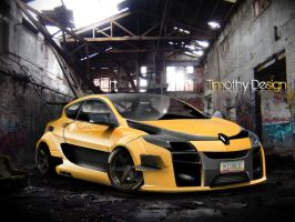Renault Megane Sport Wide Body by Adry53