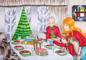 Christmas Memories by SpazztasticFanGirl