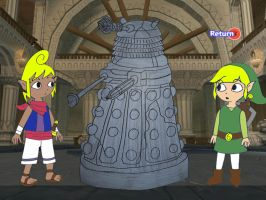 Link and Tetra's discovery by Animedalek1