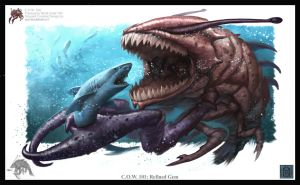 Crustacean Shark Eater by VegasMike